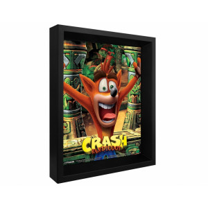 Постер 3D Pyramid Crash Bandicoot (Mask Power Up)