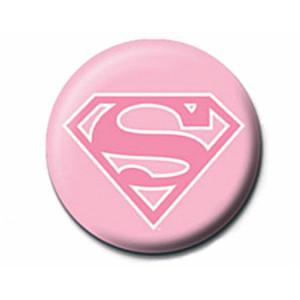 Pyramid Badge DC: Supergirl (Pink Logo)