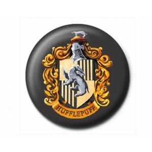 Pyramid Badge Harry Potter: Hufflepuff Crest