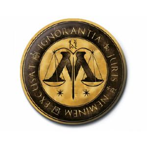 Pyramid Badge Harry Potter: Ministry of Magic