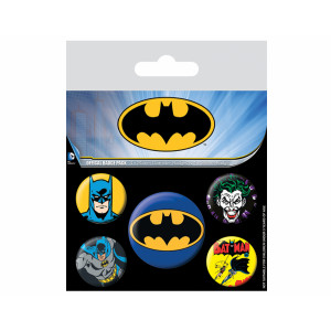 Pyramid Badge Pack DC: Batman