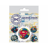 Pyramid Badge Pack DC Originals: Superman Comics