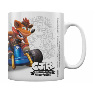 Pyramid Coffee Mug Crash Team Racing: Crash Emblem