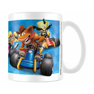 Pyramid Coffee Mug Crash Team Racing: Race