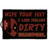 Pyramid Doormat Deadpool: Dirty