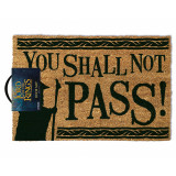 Pyramid Doormat The Lord Of The Rings: You Shall Not Pass