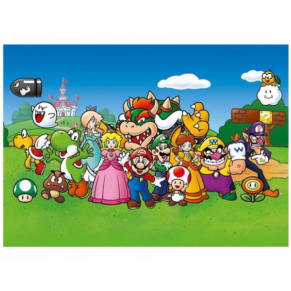 Pyramid Giant Poster: Super Mario (Animated)