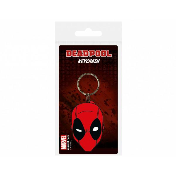 Pyramid Keychain Deadpool: Face