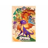 Pyramid Maxi Poster: Spyro (Animated Style)