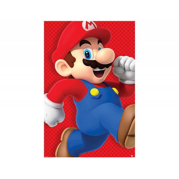 Pyramid Maxi Poster: Super Mario (Run)