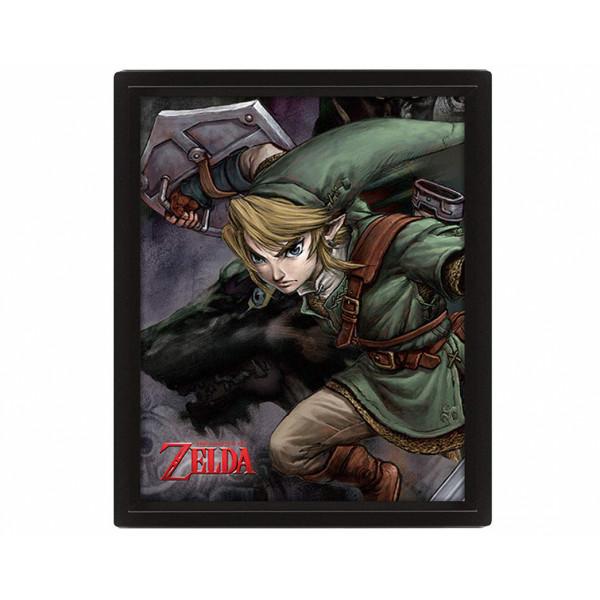 Pyramid Poster 3D: The Legend Of Zelda (Twilight Princess)