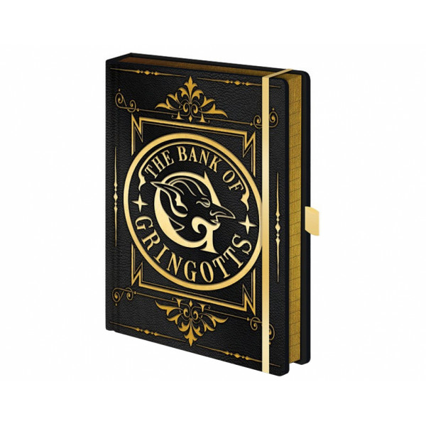 Pyramid Premium A5 Notebook Harry Potter: Gringotts