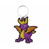 Pyramid Rubber Keychain Spyro: Dragon Stance