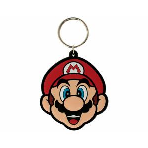 Pyramid Rubber Keychain Super Mario: Mario