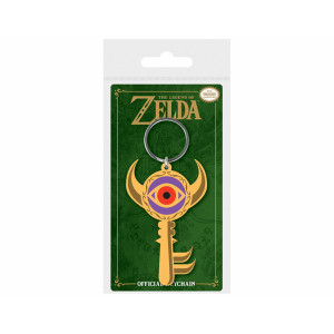 Pyramid Rubber Keychain The Legend Of Zelda: Boss Key