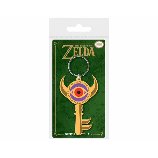 Pyramid Rubber Keychain The Legend Of Zelda: Boss Key