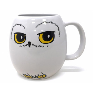 Pyramid Shaped Mug Harry Potter: Hedwig