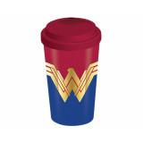 Pyramid Travel Mug DC: Wonder Woman (Emblem)