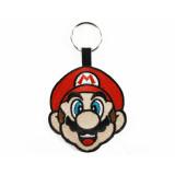 Pyramid Woven Keychain Super Mario: Face