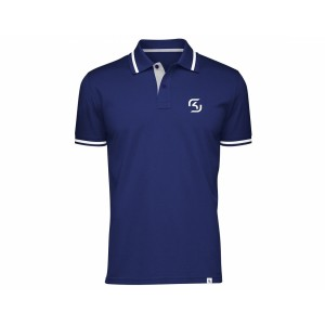 SK Gaming Polo Shirt Blue