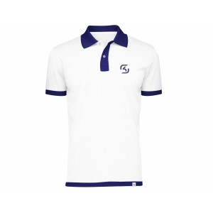 SK Gaming Polo Shirt White