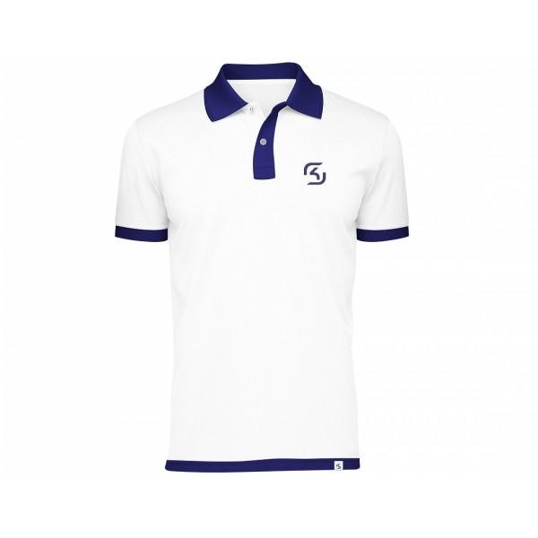 SK Gaming Polo Shirt White