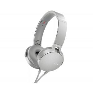 Sony MDR-XB550AP Extra Bass Grayish White