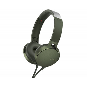 Sony MDR-XB550AP Extra Bass Green