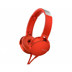Sony MDR-XB550AP Extra Bass Red