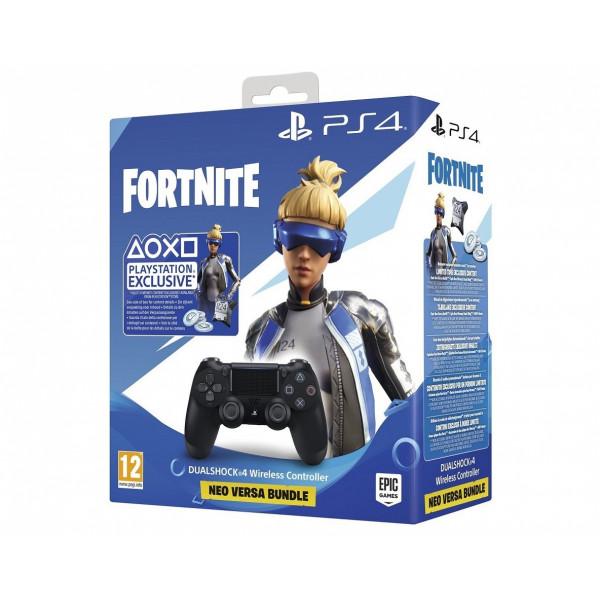Sony PlayStation DualShock 4 Fortnite Neo Versa Bundle