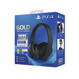 Sony PlayStation Gold Wireless Headset Fortnite Neo Versa Bundle