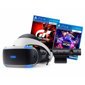 Sony PlayStation VR + Gran Turismo Sport + VR Worlds