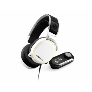 SteelSeries Arctis PRO + GameDAC White