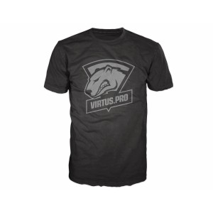 Virtus Pro Casual T-Shirt with Logo Black