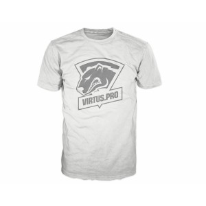 Virtus Pro Casual T-Shirt with Logo White