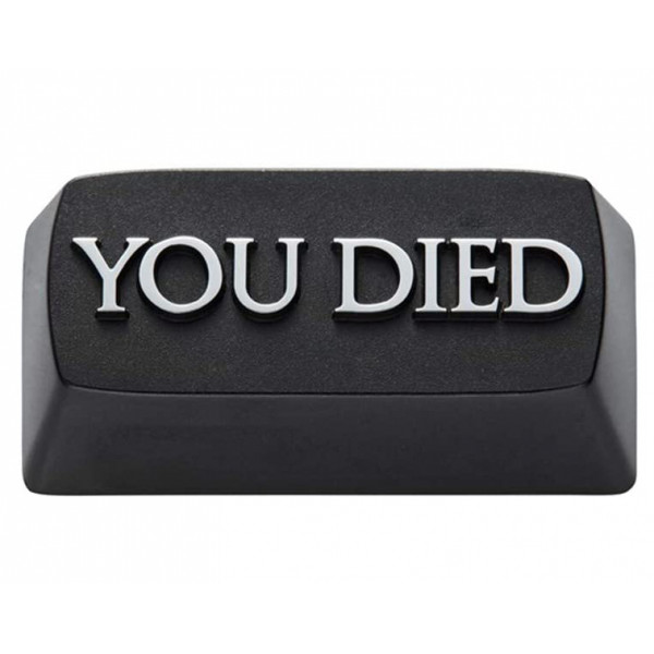 Zomoplus Aluminum Keycap You Died
