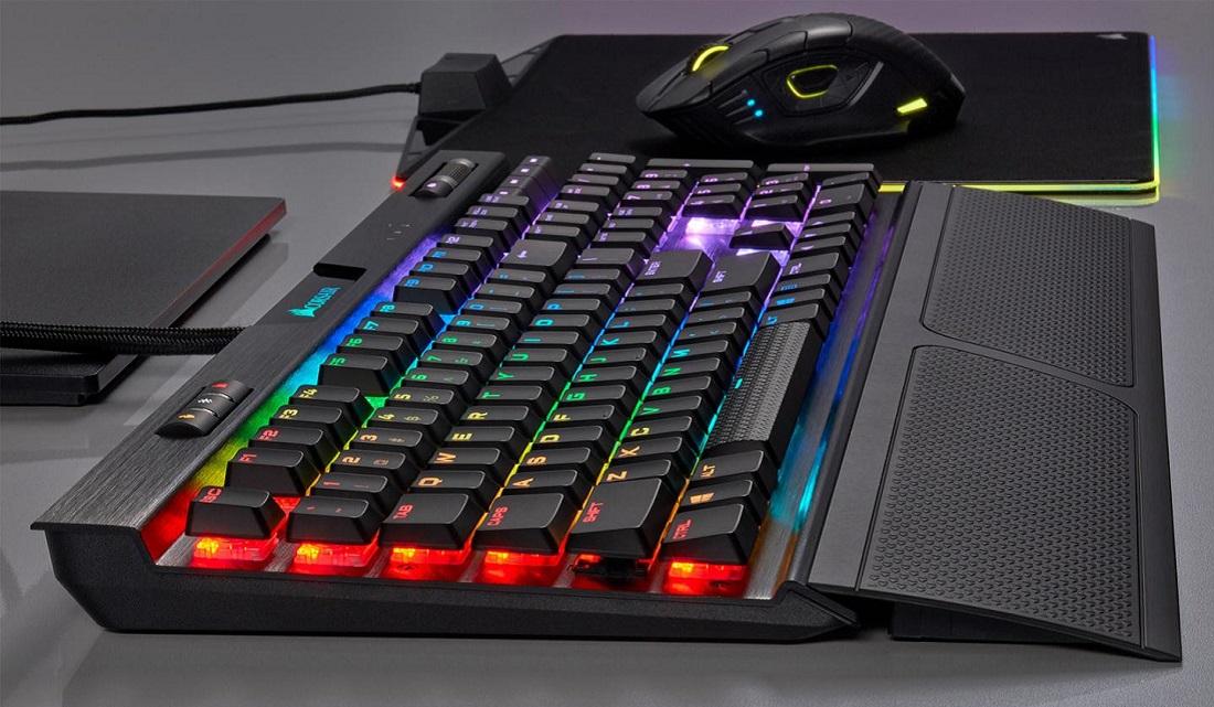 Низкопрофильные клавиатуры от компании Corsair!