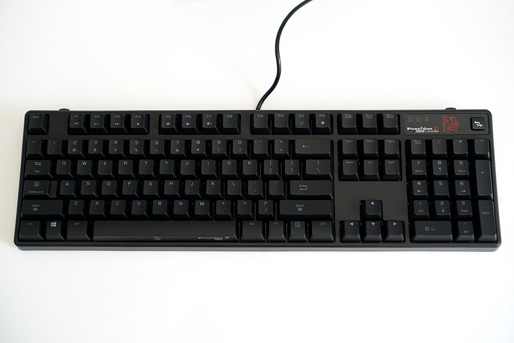 Клавиатура Tt eSports By Thermaltake MEKA G1 Black KB-MEG005RU
