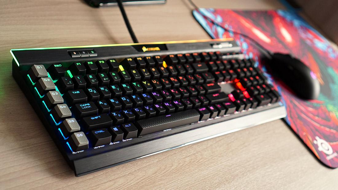 Обзор механической клавиатуры Corsair K95 RGB Platinum  Законодатель