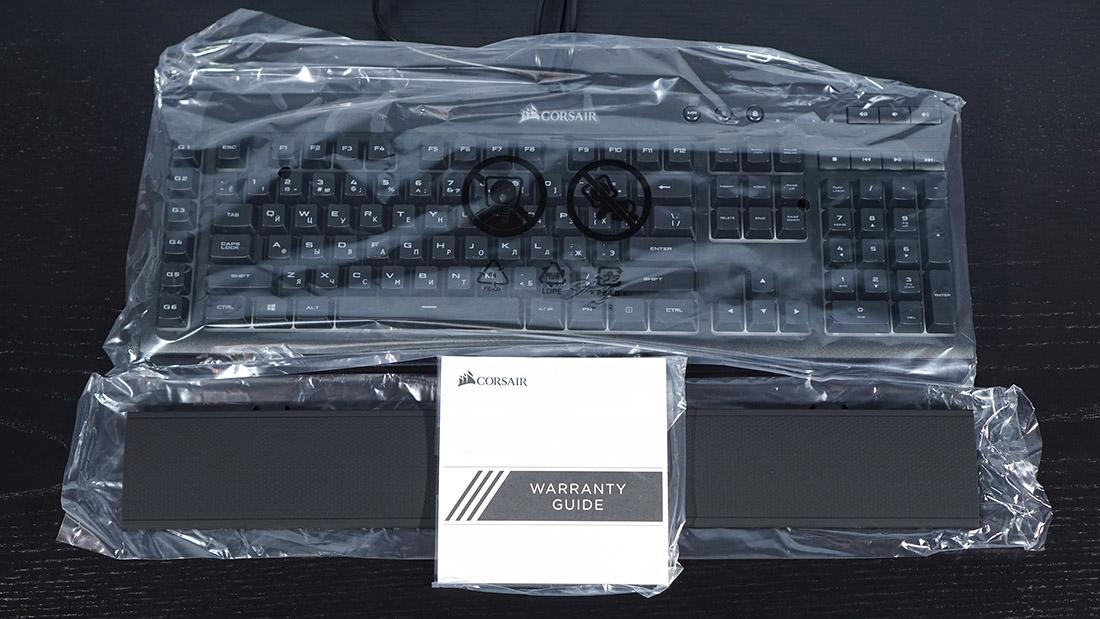 Обзор мембранной клавиатуры Corsair K55 RGB  Парящий силуэт